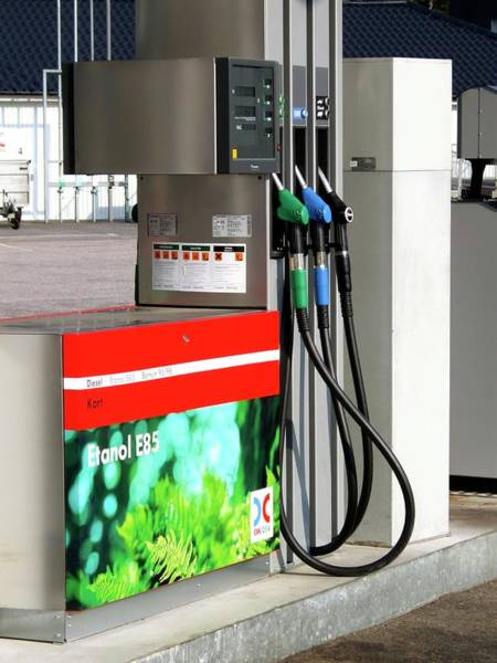 Wall Art - Photograph - Biofuel Pump by Alex Bartel/science Photo Library