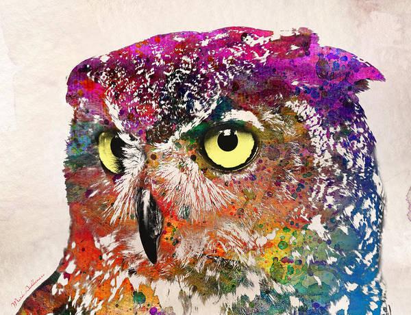Wall Art - Painting - Birds  by Mark Ashkenazi