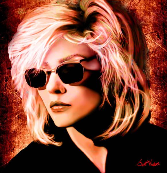 Blondie Digital Art - Blondie by Jett Vivere