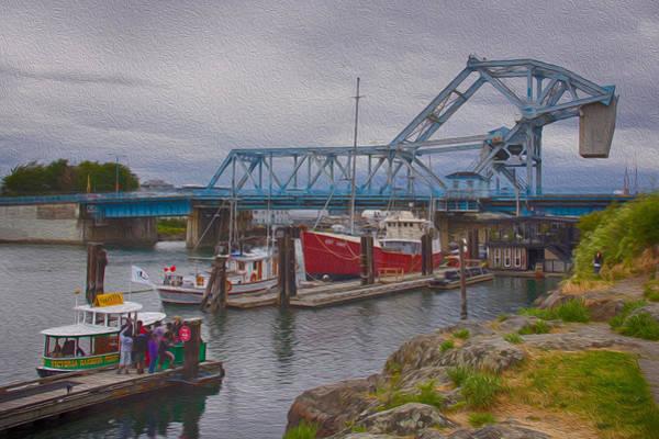 Photograph - Blue Bridge by Carrie Cole