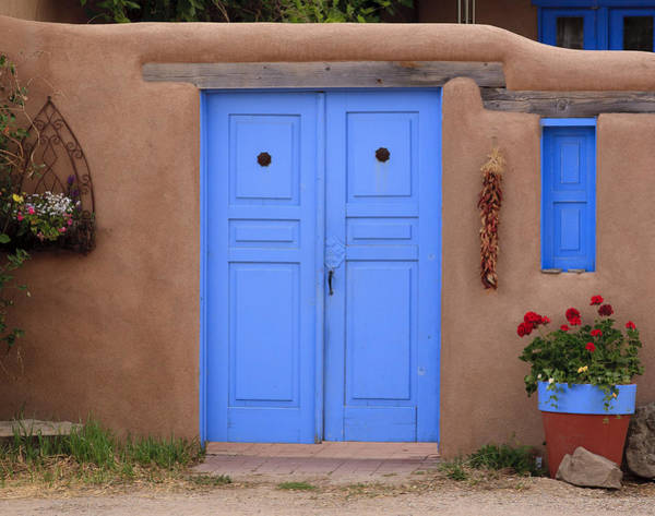 Photograph - Blue Door by Richard Smith