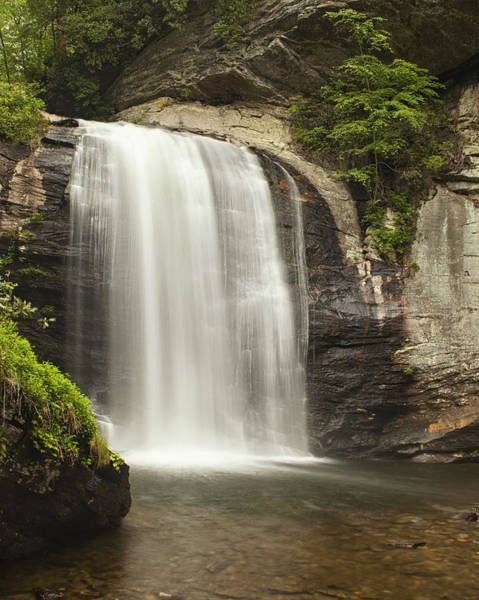 North Carolina Waterfalls Photograph - Blue Ridge Waterfall by Andrew Soundarajan