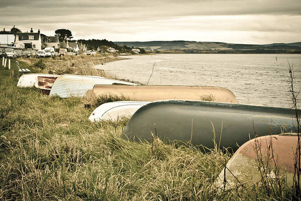 Dinghies Photograph - Boats At Findhorn by Tom Gowanlock