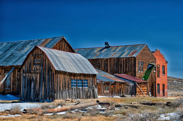 Ghost Town Photograph - Bodie by Cat Connor