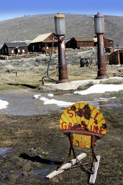 Pump Photograph - Bodie Ghost Town by Tony Craddock/science Photo Library