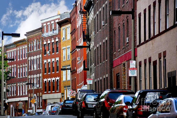 Wall Art - Photograph - Boston Street by Elena Elisseeva