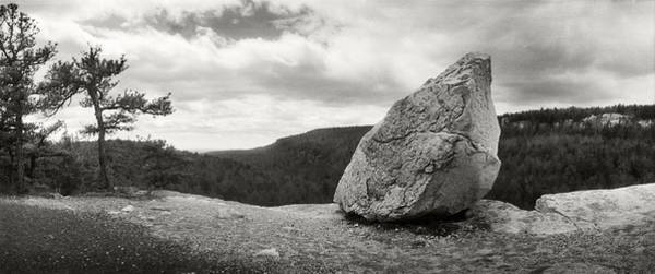 Catskill Photograph - Boulder Along The Gertrudes Nose by Panoramic Images