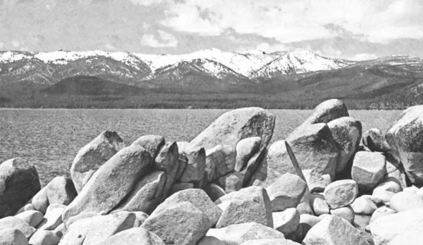 Photograph - Boulder Shore Lake Tahoe by Frank Wilson