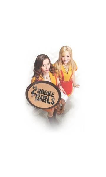 Broken Digital Art - 2 Broke Girls - Tips Really by Brand A