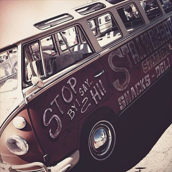 Volkswagen Bus Photograph - #bugorama #2014 #vw #volkswagen #bus by Exit Fifty-Seven