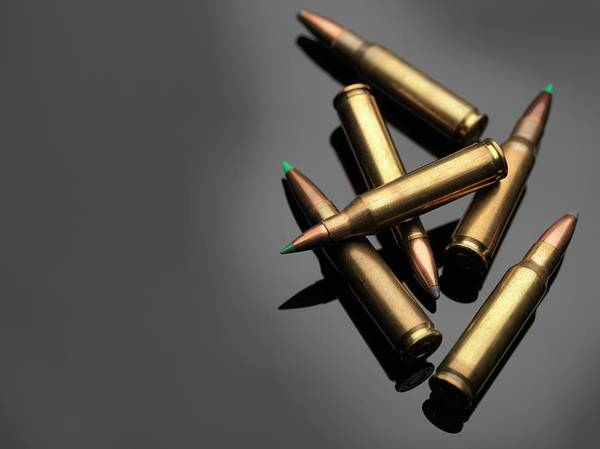 Medical Image Photograph - Bullets by Tek Image/science Photo Library