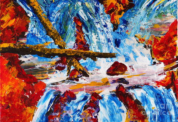 Painting - Burch Creek Run-off by Walt Brodis