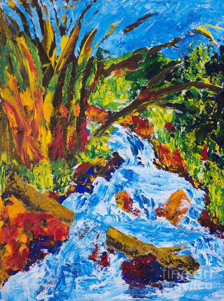 Burch Creek Art Print