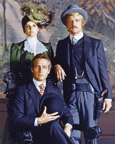 Wall Art - Photograph - Butch Cassidy And The Sundance Kid  by Silver Screen