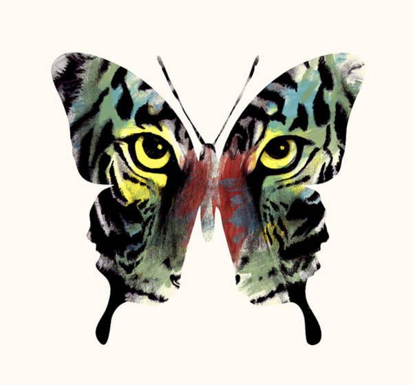 Spirituality Digital Art - Butterfly 2 by Mark Ashkenazi