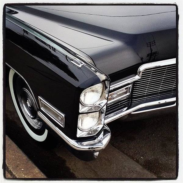 Cadillac Photograph - #cadillac #vintagecars #oldcars by Mike Valentine