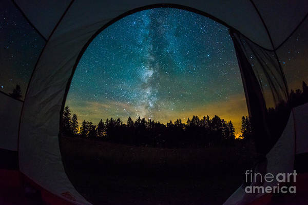 Creationism Wall Art - Photograph - Camping Under The Stars by Michael Ver Sprill