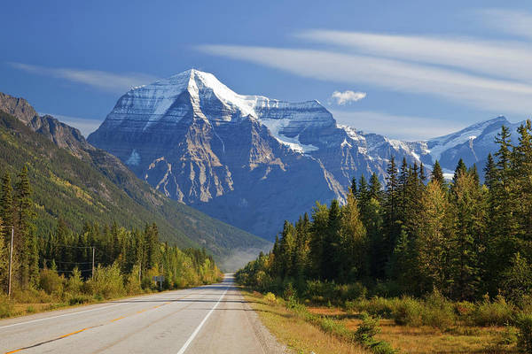Don Photograph - Canada, British Columbia, Mount Robson by Jaynes Gallery