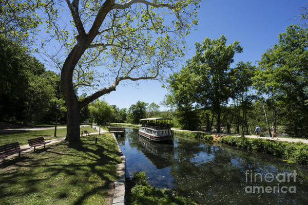 Wall Art - Photograph - Canal Boat On The C And O Canal In Maryland by William Kuta