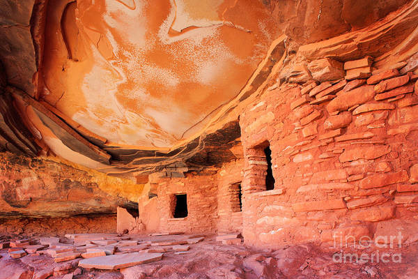Ancient America Photograph - Canyon Ruins by Inge Johnsson