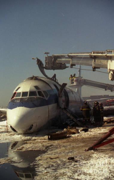 Photograph - Cargo Plane Crash At Jfk by Steven Spak