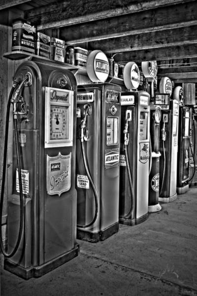 Photograph - Carl's Gas Pumps by Williams-Cairns Photography LLC