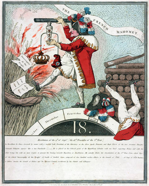Lazare Painting - Cartoon French Revolution by Granger