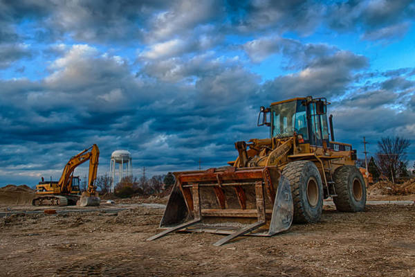 Bulldozer Photograph - Cat Bulldozer by Mike Burgquist