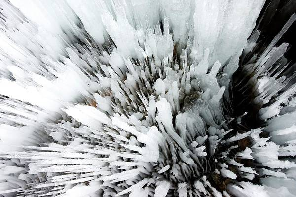 Icicles Wall Art - Photograph - Cave Icicles by Louise Murray