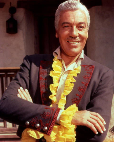 Cesar Wall Art - Photograph - Cesar Romero by Silver Screen