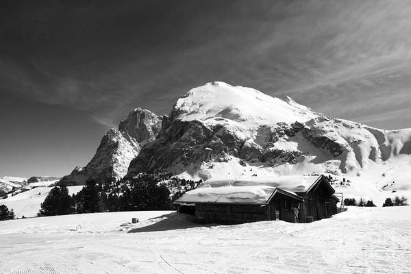 Photograph - Chalet's Mountain by Pier Giorgio Mariani