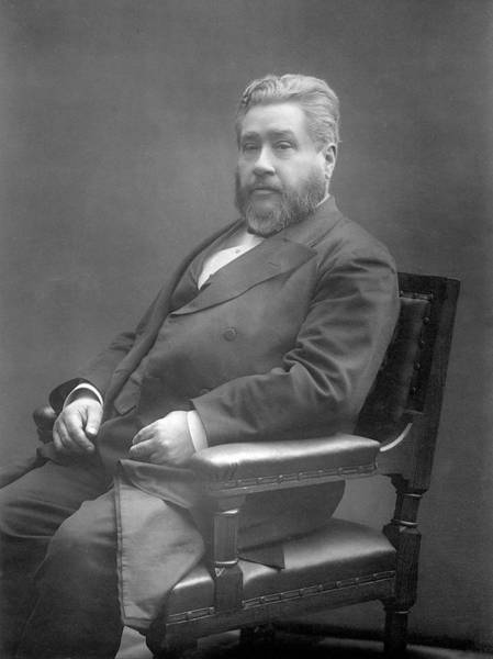 Wall Art - Photograph - Charles Haddon Spurgeon (1834 - 1892) by Mary Evans Picture Library