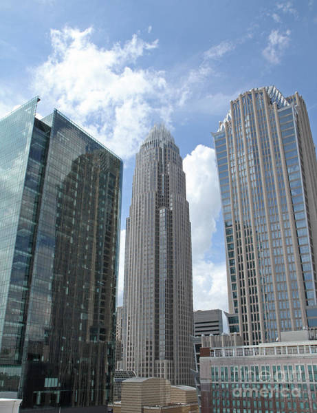 Photograph - Charlotte City Skyline by Kevin McCarthy