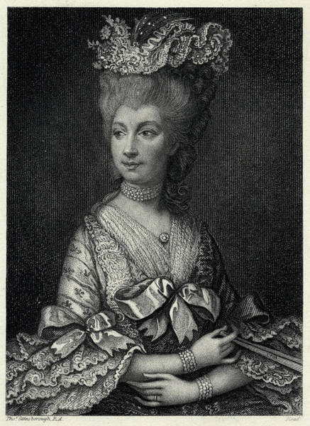 Wall Art - Drawing - Charlotte Sophia Of by Mary Evans Picture Library