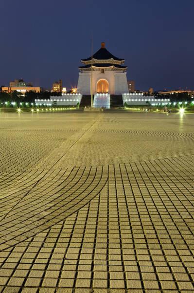 Taiwanese Wall Art - Photograph - Chiang Kai-shek Memorial by @ Didier Marti