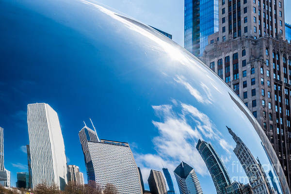 Photograph - Chicago Bean Millenium Park by Jim DeLillo