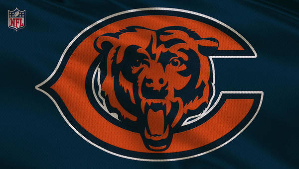 Wall Art - Photograph - Chicago Bears Uniform by Joe Hamilton
