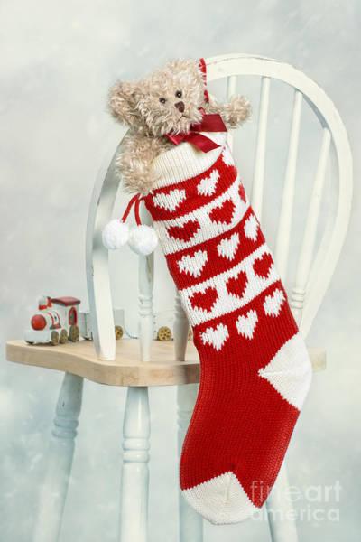 Wall Art - Photograph - Christmas Stocking by Amanda Elwell