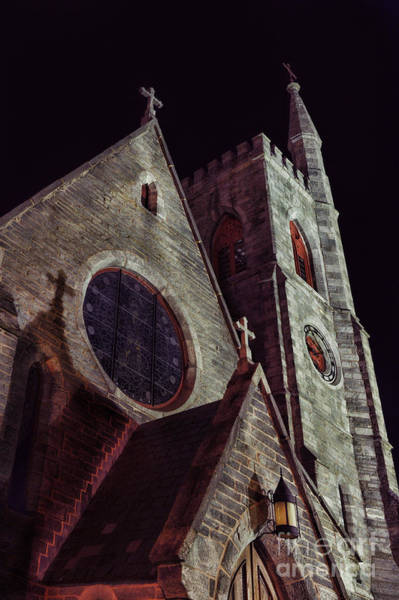 Steeple Wall Art - Photograph - Church by HD Connelly