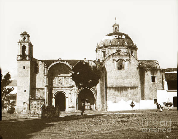 Photograph - Old Church Mexico Circa 1900 by California Views Archives Mr Pat Hathaway Archives