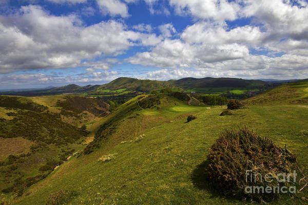 Church Stretton Wall Art - Photograph - Church Stretton Golf Course by Darren Burroughs