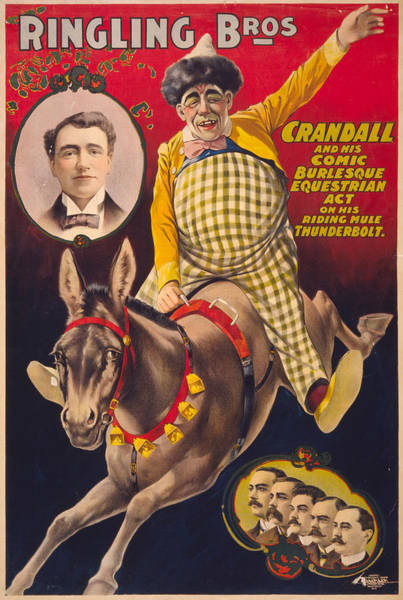 Painting - Circus Poster, C1899 by Granger