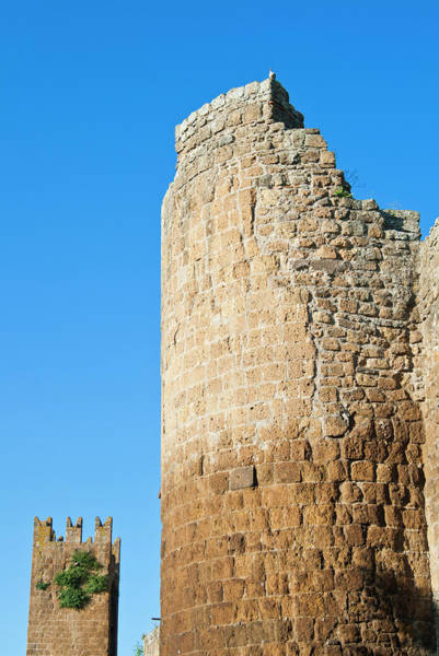 Fortification Photograph - City Ramparts, Tuscania, Viterbo by Nico Tondini