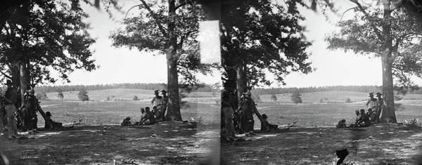 Wall Art - Photograph - Civil War Battlefield by Granger