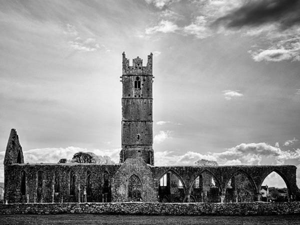 Photograph - Claregalway Friary  by Fabrizio Troiani