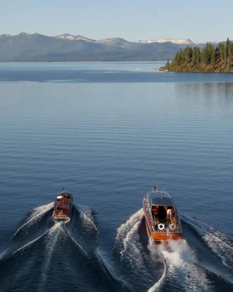 Photograph - Classic Boats Of Lake Tahoe by Steven Lapkin