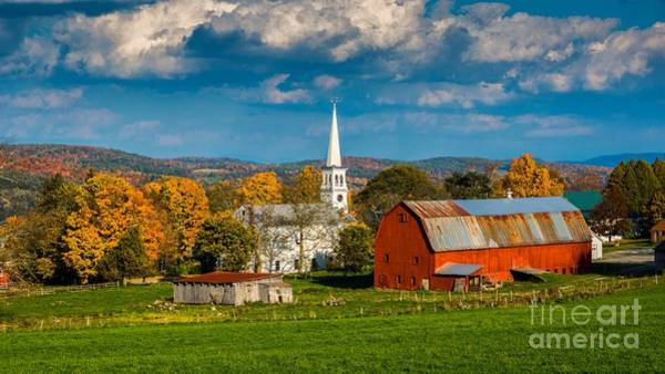 Photograph - Classic Vermont Foliage. by New England Photography