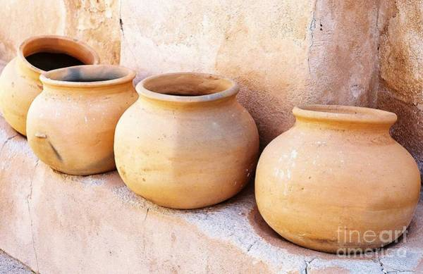 Photograph - Clay Pots by Kerri Mortenson