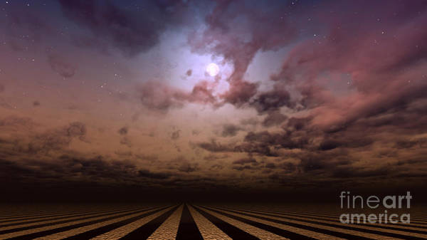 Deep Space Mixed Media - Cloudscape by Diuno Ashlee