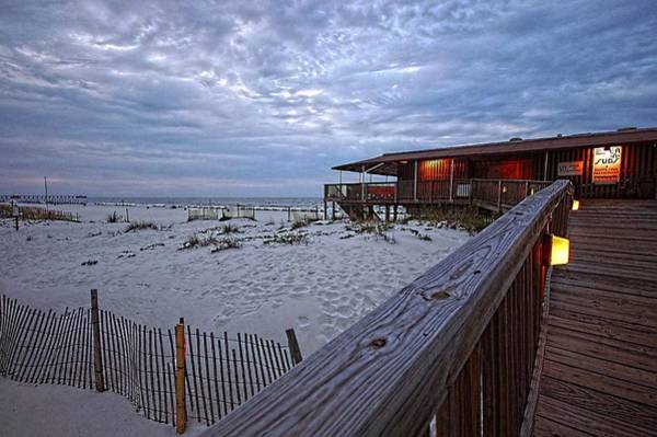 Wall Art - Painting - Cloudy Morning At The Sea N Suds by Michael Thomas